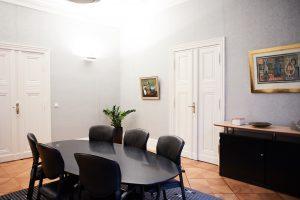 Besprechungszimmer in der Kanzlei von Matthias Dols